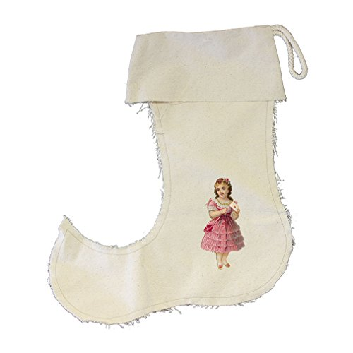 And A Letter Stocking Canvas Jester Large (Jester Letters)