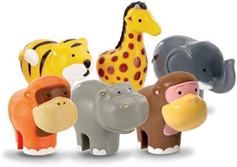 WOW Toys Safari Animals Friends Play Set: Amazon.co.uk: Toys