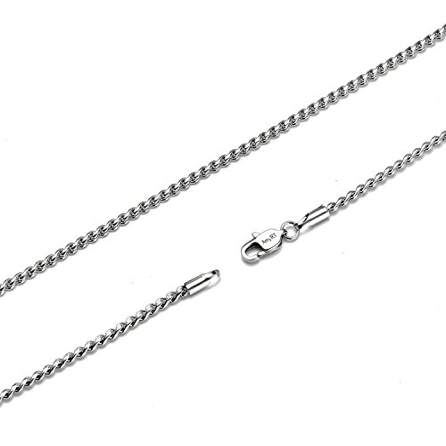 Stainless Steel 2mm High Polish Snake Chain (Gold Plated) - 1