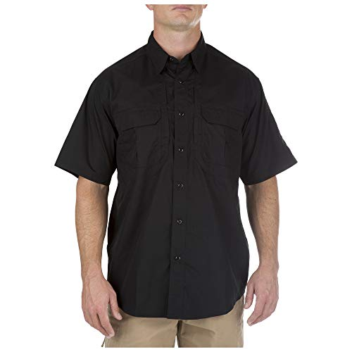 5.11 Tactical Cover T-shirt - 5.11 Tactical Taclite Pro Short Sleeve Tall Shirt, Black, XX-Large