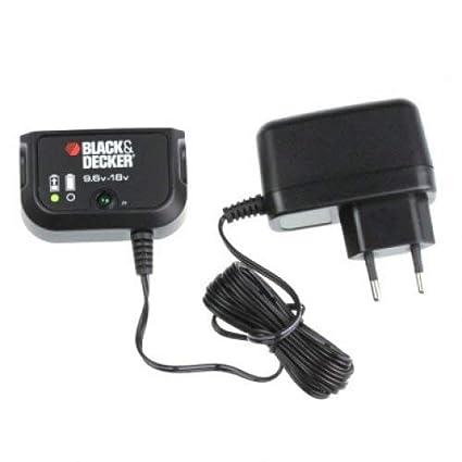 Black & Decker Cargador de baterías 18 V bd1800 EPC186 ...