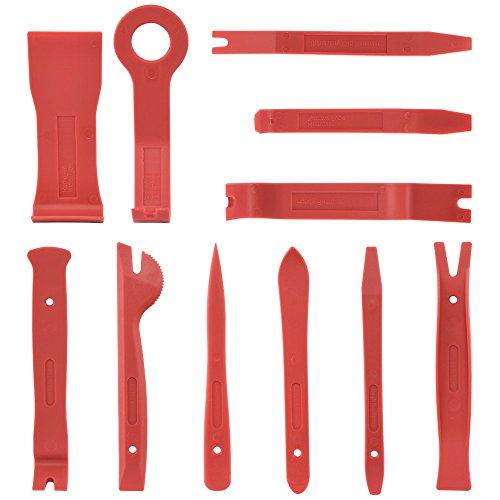 Neiko 20765A Premium Auto Trim Removal Tool Kit, 11 Piece  Trim Molding Installer, Pry, Scraper, Fastener