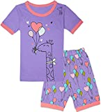 Tkala Fashion Christmas Girls Pajamas Children Clothes Set 100% Cotton Little Kids Pjs Sleepwear (6, 2-Pajamas)
