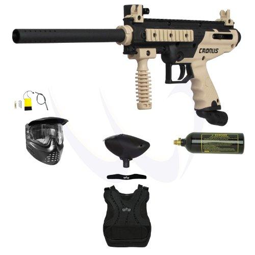 Tippmann Cronus Paintball Marker Gun -Basic Edition- Tan Armor Package ()