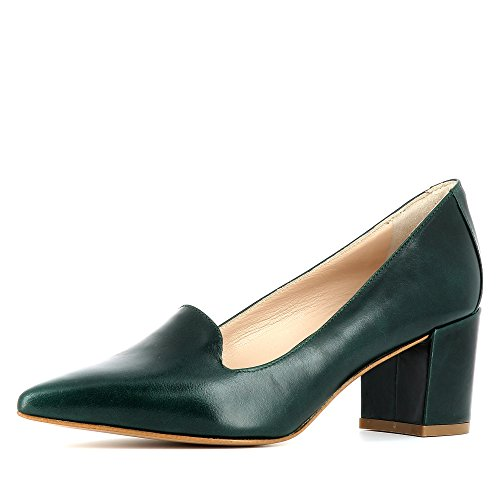 Evita Shoes Romina - Zapatos de vestir de Piel para mujer verde oscuro