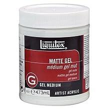 Liquitex 5322 16oz. Matte Gel - Medium