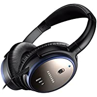 Creative Aurvana ANC Lightweight, Powerful Active Noise-cancelling Foldable Headphones with Microphone