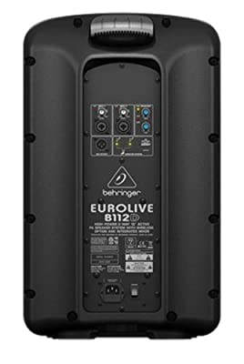 "Behringer Eurolive B112D Active 2-Way 12"" PA Speaker System with Wireless Option and Integrated Mixer by Behringer"
