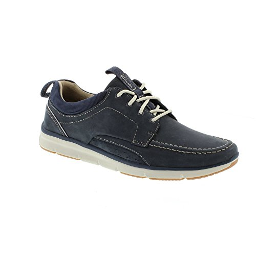 Clarks Men's Orson Bay Casual Lightweight Shoes 9.5 UK/10.5 D(M) US Navy Nubuck by CLARKS