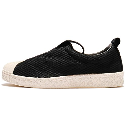 6e822bee2d Galleon - Adidas Superstar Slip On Womens Sneakers Black