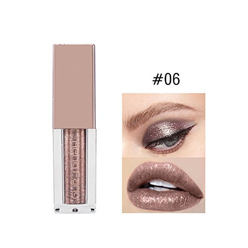 Hengfang Diamond Glitter & Shimmer Style Liquid Eyeliner Eyeshadow Waterproof Glitter Liquid Eyeliner & Eyeshadow Pen (06)
