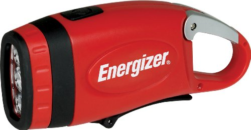 Energizer Weatheready 3-LED Carabineer Rechargeable Crank Light, - Crank Led 3