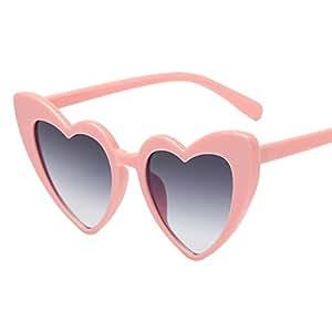 Gaddrt - Gafas de Sol con Forma de corazón para Mujer, C ...