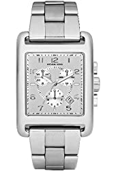 Michael Kors Women's MK5435 Casual Classic Chronograph Silver Watch