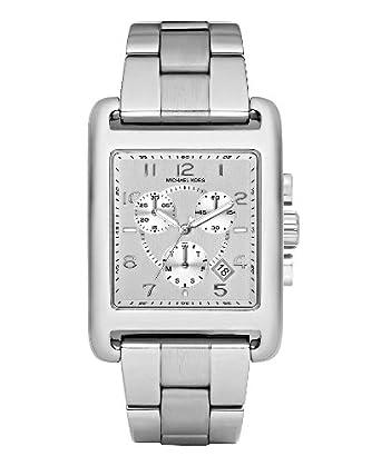 Amazon.com: Michael Kors Womens MK5435 Casual Classic Chronograph Silver Watch: Michael Kors: Watches