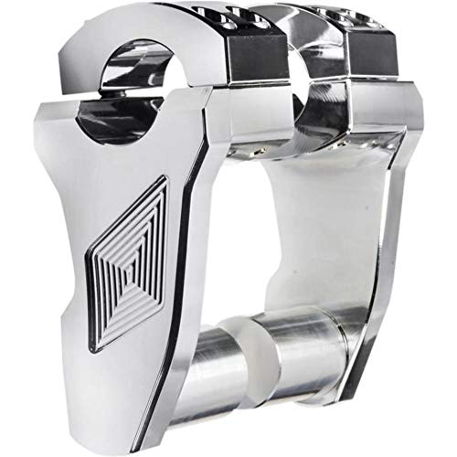 (Rox Speed FX Patriot Series Pivoting Risers - 2in. - Chrome 4RP2RX02)