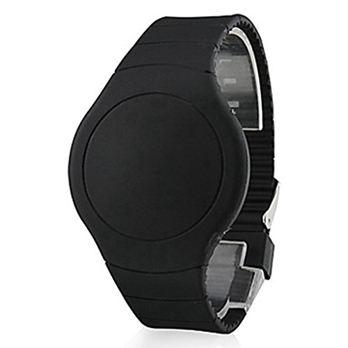 Soleasy Men's Touch Screen Calendar Red LED Digital Wrist Watch WTH8272