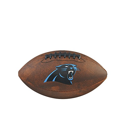 NFL Junior Throwback Team Logo Football - Carolina ()