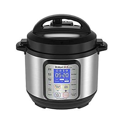Instant Pot DUO Plus 9-in-1 Multi- Use Programmable Pressure Cooker