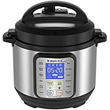 Instant Pot DUO Plus 3 Qt 9-in-1 Multi- Use Programmable Pressure Cooker, Slow Cooker, Rice Cooker, Yogurt Maker, Egg Cooker, Sauté, Steamer, Warmer, and Sterilizer