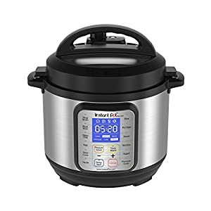 Instant Pot DUO Qt 9-in-1 Multi- Use Programmable Pressure Cooker, Slow Cooker, Rice Cooker, Yogurt Maker, Egg Cooker, Sauté, Steamer, Warmer, and Sterilizer
