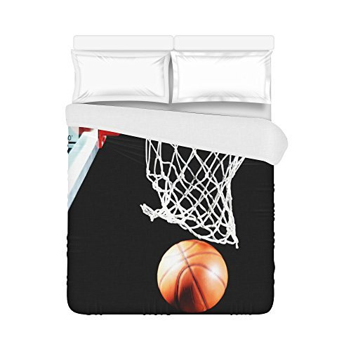 Customize Basketball Never Stops Fashion Duvet Cover 86 X 70One Side Printed DC 232 Good For All King SizeQueen SizeDouble SizeTwin Size
