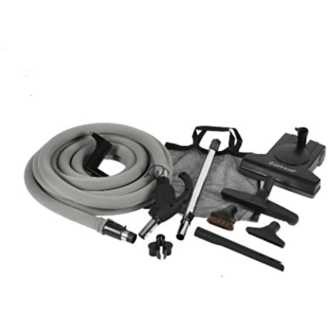 Cen Tec Systems 99636 Turbocat Central Vacuum Kit With 35 Feet Universal Connect Hose
