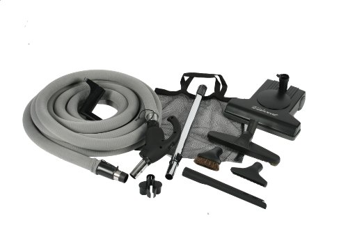 Cen-Tec Systems 99636 Turbocat Central Vacuum Kit With Universal Connect Hose -