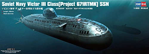 (Hobby Boss Victor III Class (Project 671RTMK) SSN Boat Model Building)