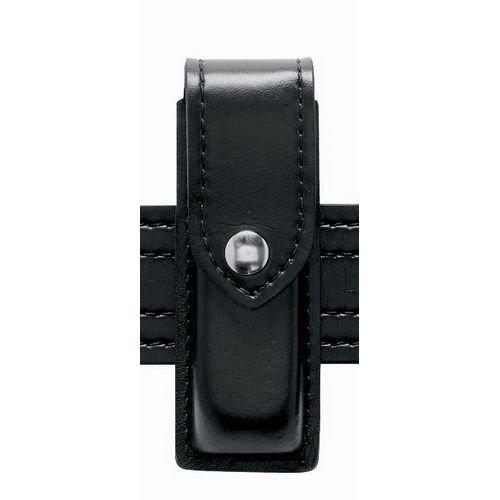 (Safariland 76 Single Handgun Magazine Pouch - Basket Black, Ambidextrous)