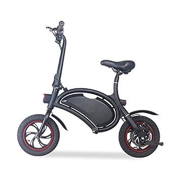 BEBK Bicicleta Eléctrica Plegable Inalámbrico Inteligente Plegable De 12 Pulgadas/E-Bike/Scooter