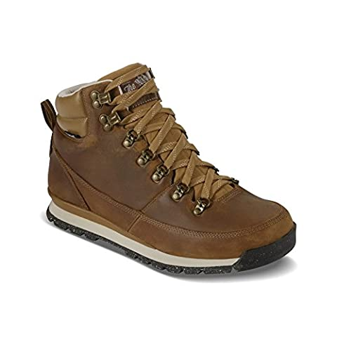 The North Face Back-To-Berkeley Redux Leather Boot - Men's Dijon Brown/Vintage White 12