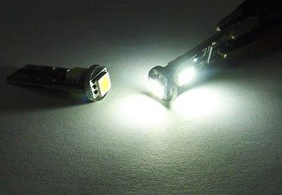LEDIN 168 T10 194 No Error 3 SMD LED Rear Side Marker Light 2825 W5W White 5W