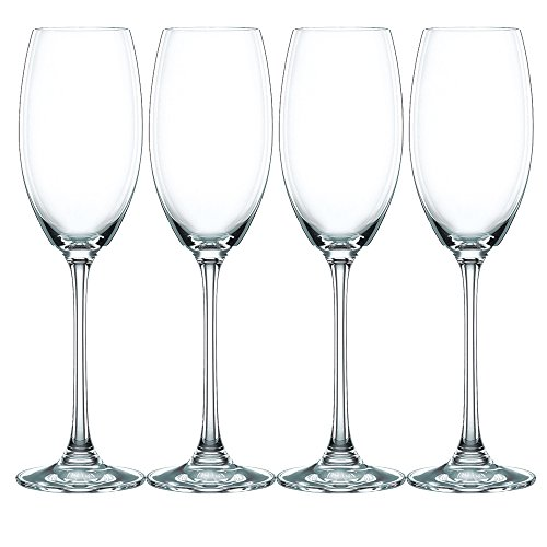 Nachtmann Vivendi Set of 4 Champagne Glasses, (Royal Champagne Set)
