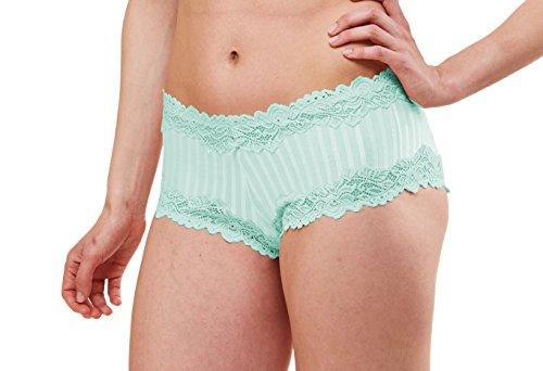 Lunaire Women's Plus Size Barbados, Celadon, 8 XLarge Lunaire Lace Panties