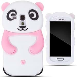 Zooky rosa silicona panda funda carcasa cover para samsung galaxy s3 mini i8190 amazon - Fundas para s3 mini ...