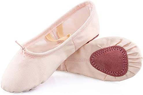 Amazon.com: Koolen zapatillas de ballet, parte superior de ...