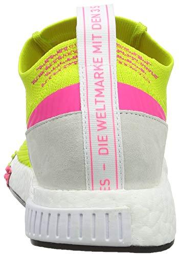 Para Nmd Gimnasia ftwr semi racer Pk Blanco White White Adidas ftwr Yellow Solar W De Mujer Zapatillas 0pvdnSY