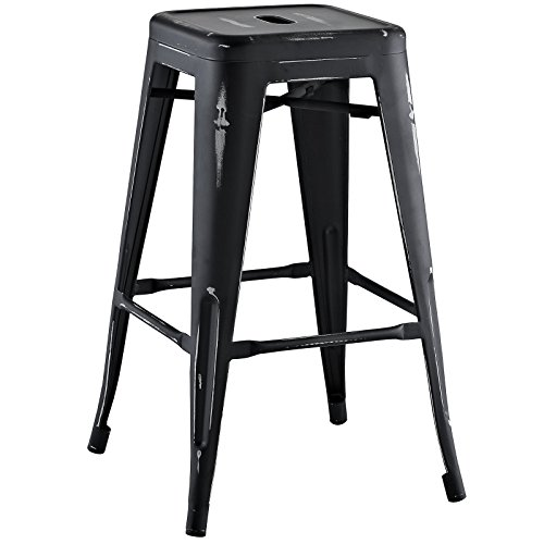 Modway Promenade Counter Stool, Black (Nook Sale With For Breakfast Storage)