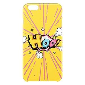 Loud Universe Apple iPhone 6 Plus 3D Wrap Around Comic Hoo Print Cover - Yellow