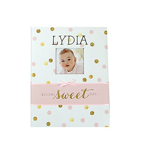 GiftsForYouNow Sparkle Personalized Memory Book for Baby