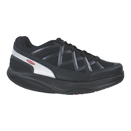 MBT Men's Sport 3 Black Leather/Mesh Size 46 Wide -  400334-03/700815-03Y