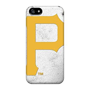 Anti-Scratch Hard Cell-phone Cases For Iphone 5/5s (ZuZ2461kUKp) Provide Private Custom Colorful Pittsburgh Pirates Skin