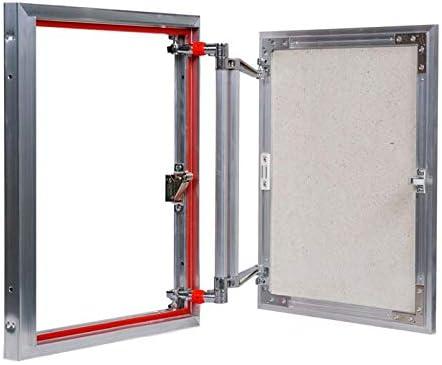 Panel de acceso magnético oculto de aluminio, 200 mm x 300 mm, puerta de inspección, trampilla de acceso, puerta de acceso con ajuste 3D: Amazon.es: Bricolaje y herramientas