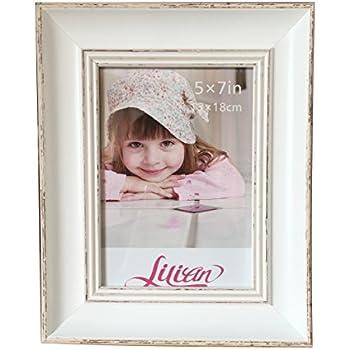 Amazon.com - Lilian PC white desktop photo frames White.Choose PS ...