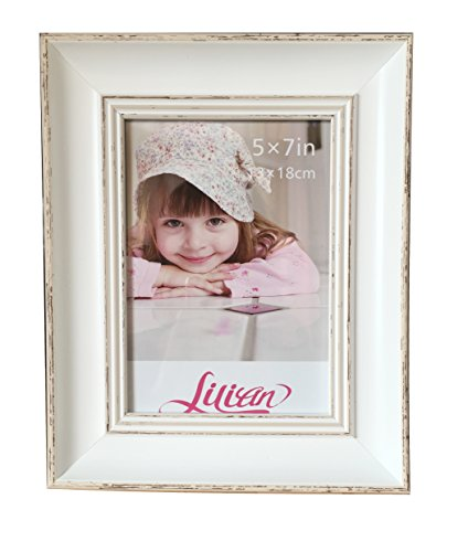 Intco Lilian PC White Photo Frames(8 x 10in), Choose PS Polymer Material Environmental Protection(3175-C2T-i)