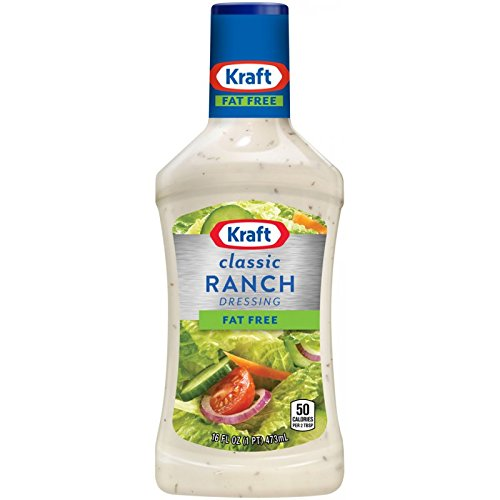 Kraft Fat Free Ranch Salad Dressing - 6 Pack