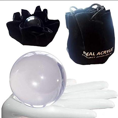 Pelota de Contacto de Acrílico, Real Acrylic Contact Juggling Ball ...