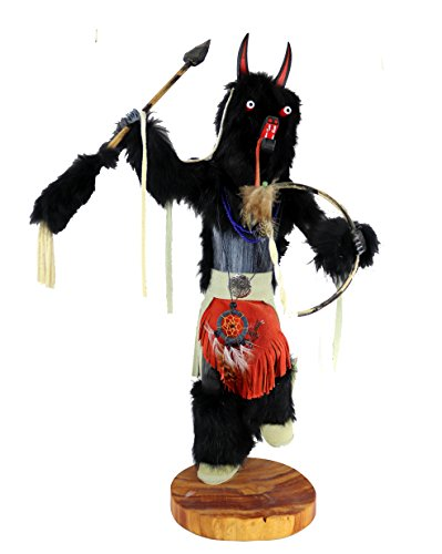 Native American Wolf Kachina Doll - Trophy Collection - Handmade by the Dine (Navajo) tribe Wolf Kachina
