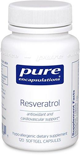 Pure Encapsulations Resveratrol Hypoallergenic Cardiovascular
